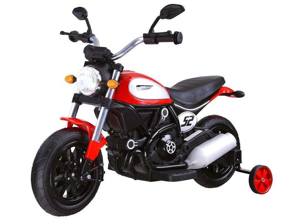 Joko PA0235 CZ Elektrická motorka Street Bob červená