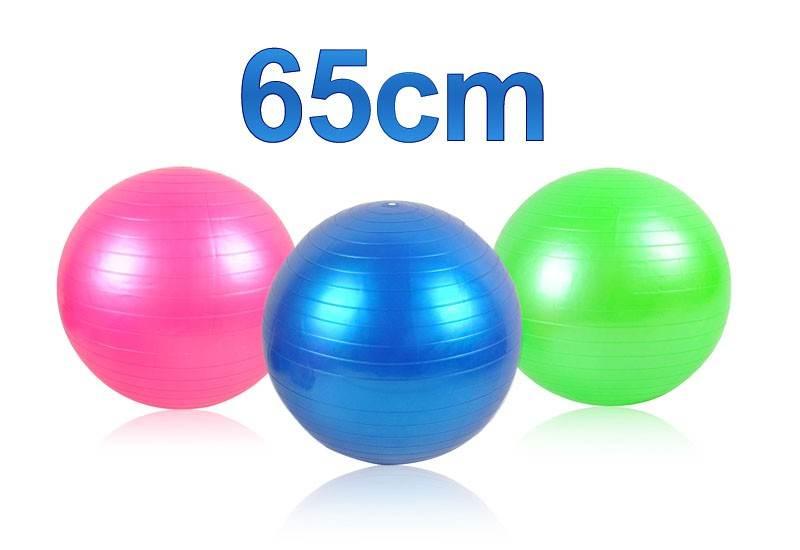 ISO Gymnastická lopta 65 cm + hustilka