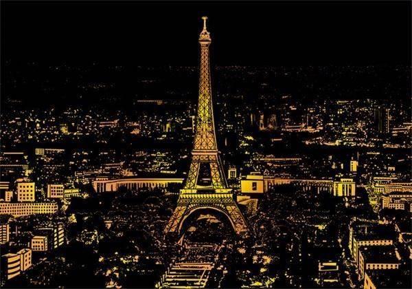 GFT Stieracie obraz Paríž
