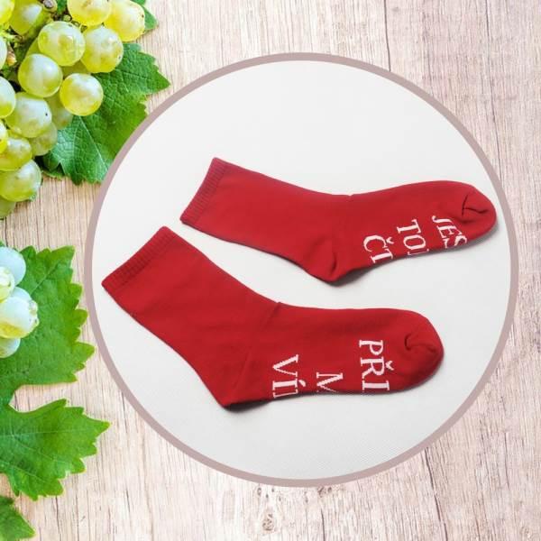 GFT Ponožky Prines mi víno