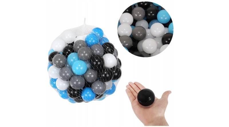 Malatec 9272 Loptičky do bazéna 100 ks 5cm modro čierne