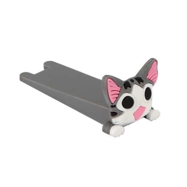 KIK KX7297 Silikonová dveřní zarážka kočka