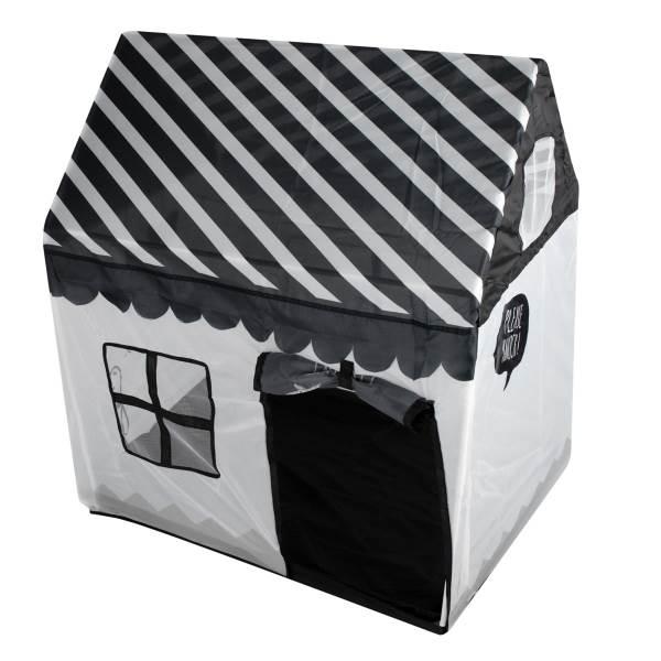 KIK KX7932 Detský textilný domček čiernobiela1