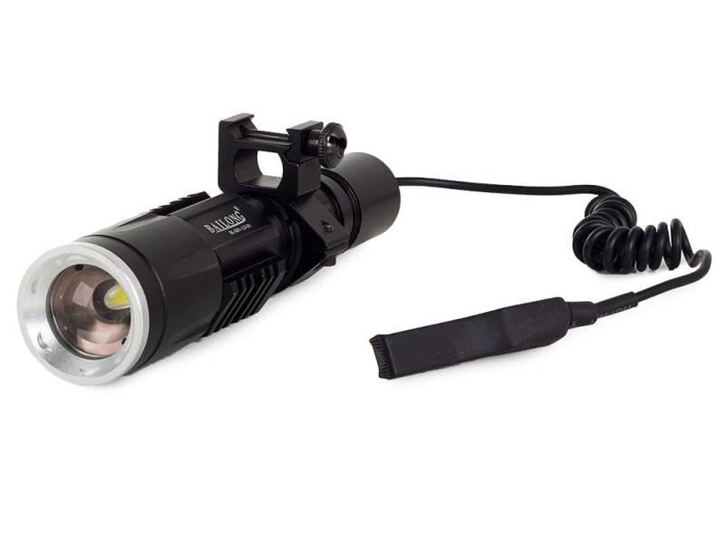 BAILONG CREE XM-L3-U3 Q01 Taktické svietidlo s mikrospínačom