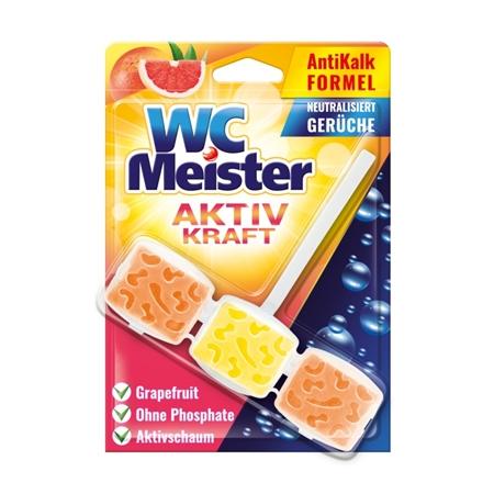 WC Meister Aktiv Kraft Grapefruit WC blok, 45 g