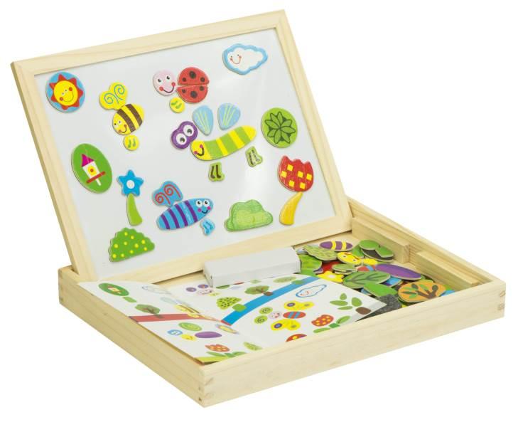 KIK KX7549 Dřevěná magnetická tabulka