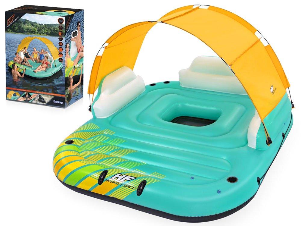 Bestway 43407 Nafukovacie plávajúci ostrov Sunny Lounge 300 x 275 cm