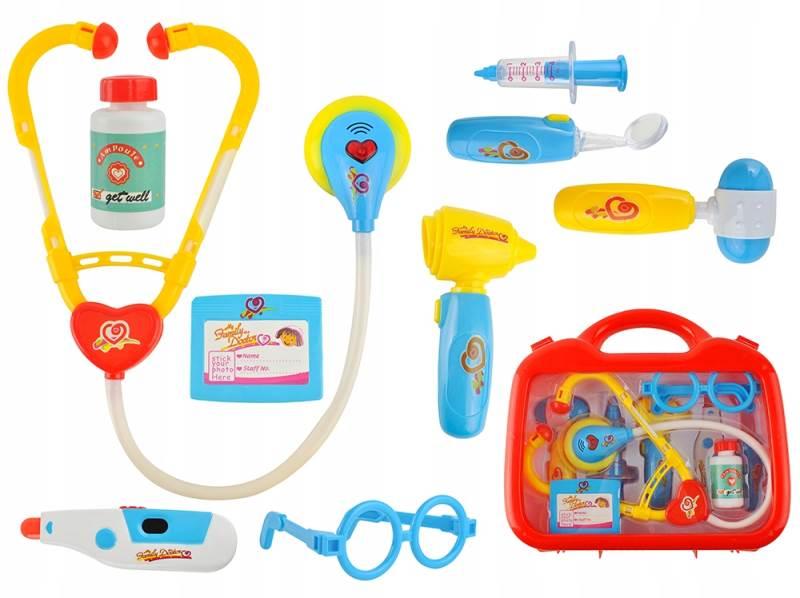 ISO 6118 Doktorský kufr 10 dílů