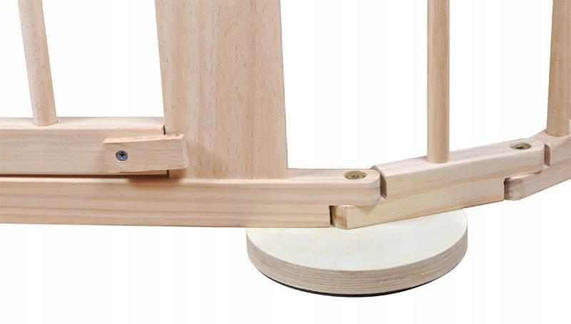 Malatec 8178 Drevená ohrádka borovica 6 panelov XL3