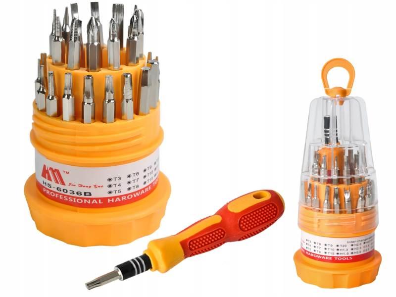 ISO 5856 Sada servisných skrutkovačov