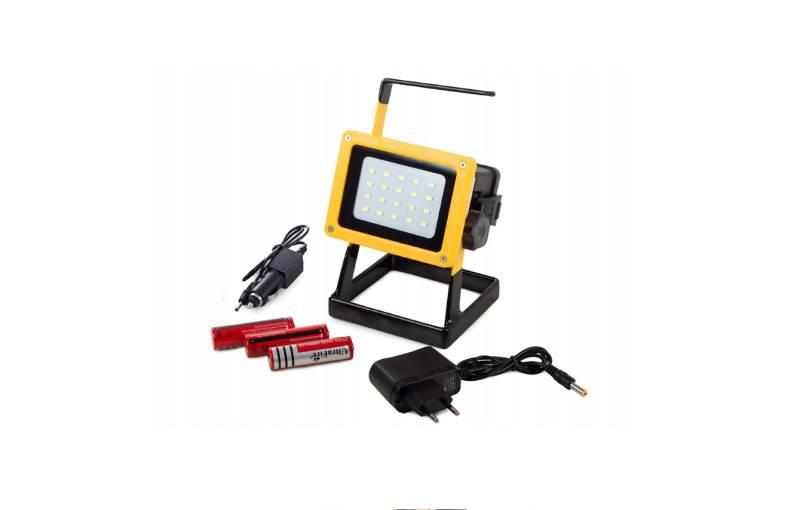 Verk 12232 Přenosný LED reflektor 20 SMD 100W