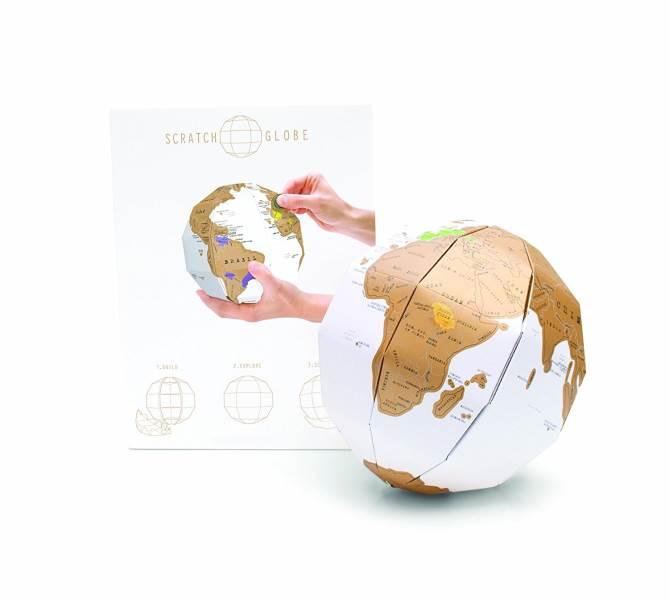 Mao 3D stírací globus
