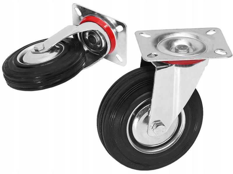 ISO 6688 Kolo 100 mm transportní otočné bez brzdy
