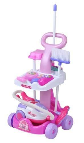 ISO W4696 Detský upratovací vozík Magical Playset