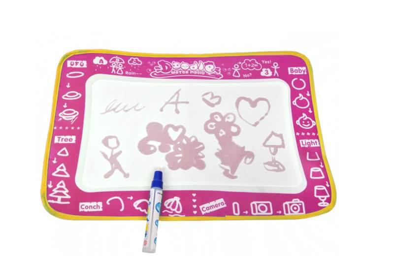 Playmat Doodle water magic + Aqua pero růžová