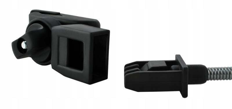 ISO 6571 Slnečník na kočík tmavosivý Ľan10