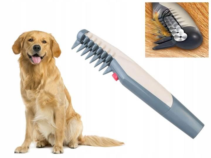 Verk 15721 Elektrický rozčesávacia kefa pre psov a mačky KnotOut