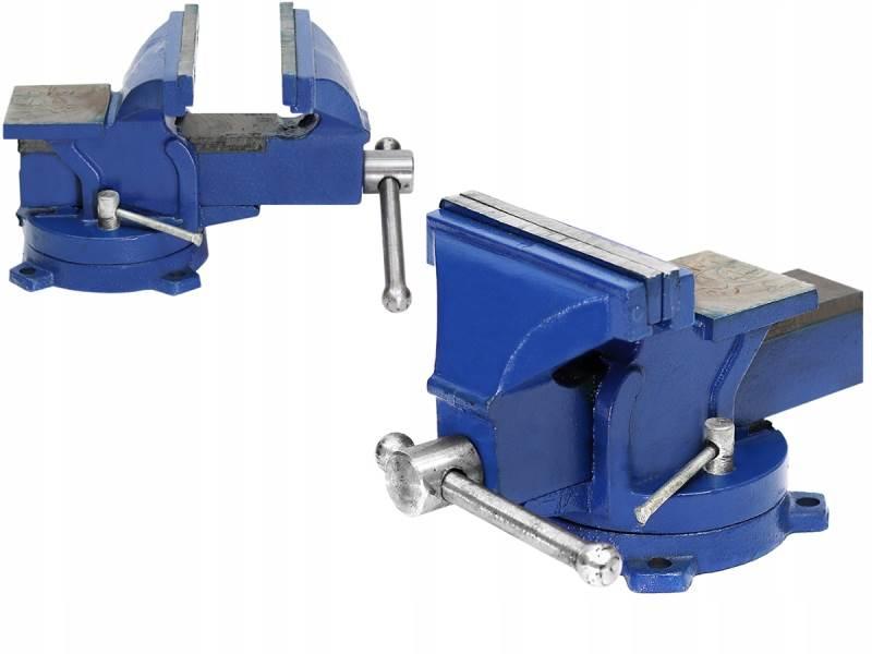 ISO 6622 Otočný dílenský svěrák 90 mm