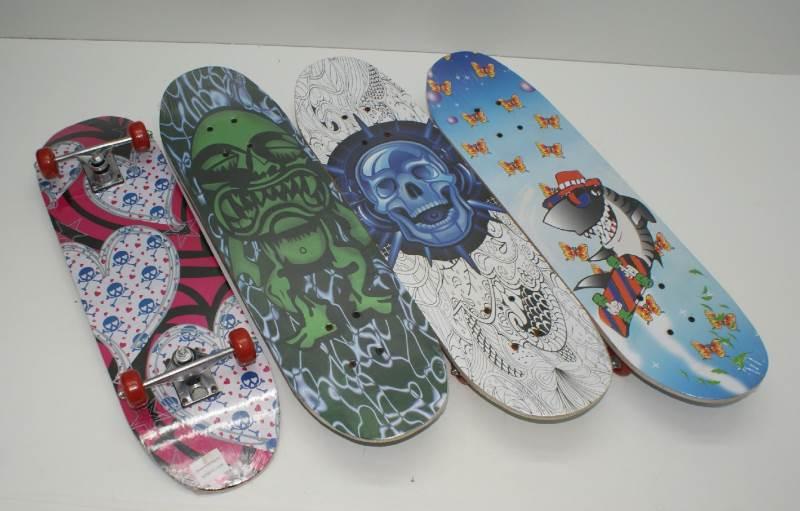 GGV Detský skateboard s potlačou 70 x 20 cm