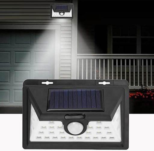 ISO 8697 Solárne vonkajšie 34 LED SMD osvetlenie s pohybovým senzorom