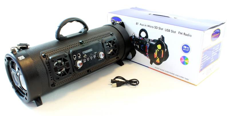 APT ZS47 Reproduktor BOOMBOX Bluetooth MP3 RADIO X-LINE