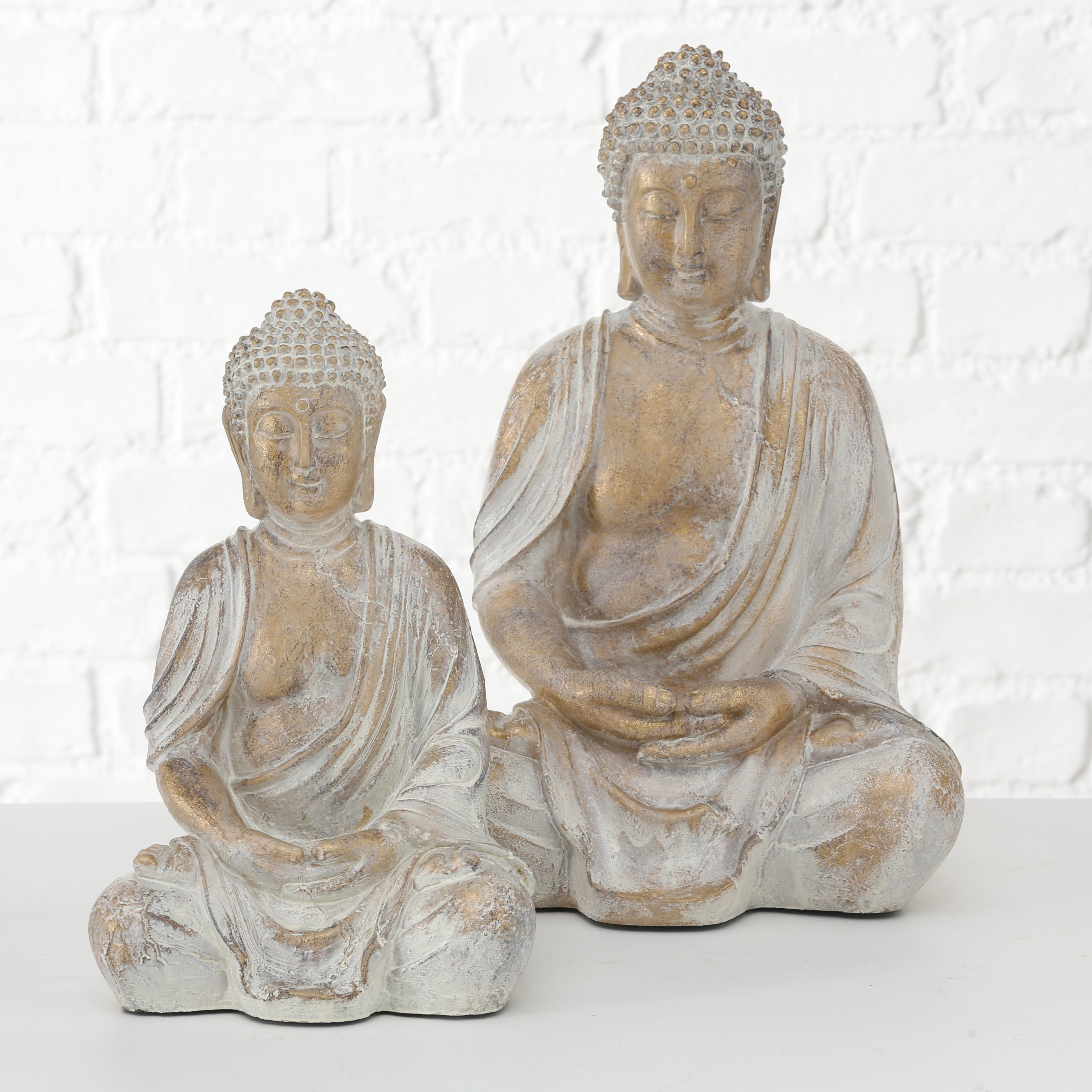 Boltz Dekoratívne soška Meditujúci Budha Flyn 1 ks