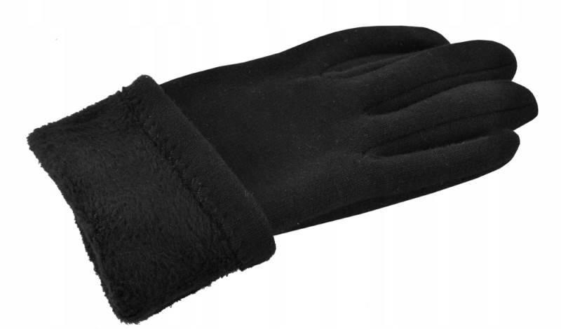 ISO 6413 Zimní rukavice na dotykové displeje 2v1 černé4