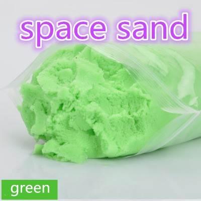 SpaceSand Magický tekutý písek 1000g zelený