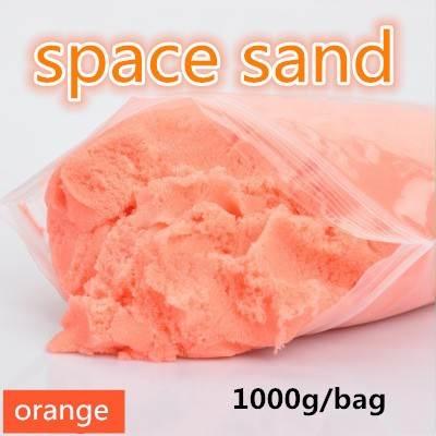 SpaceSand Magický tekutý písek 1000g oranžový