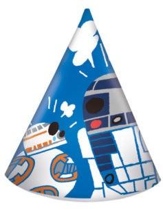 Javoli Papierová párty čiapočka Star Wars 6 ks II