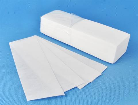 ISO Depilačné Fleece pásiky 100 kusov