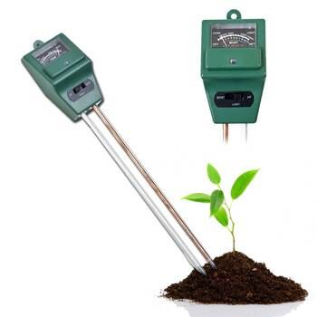 ISO 8692 Merač vlastností pôdy 2v1