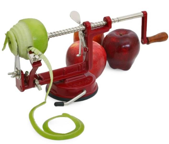 Verk 15494 Loupač a kráječ jablek 3 v 1 červená
