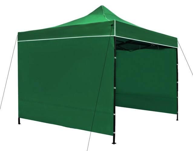 Malatec 3249 Prodejní stánek 3x3 m + 3 stěny zelený