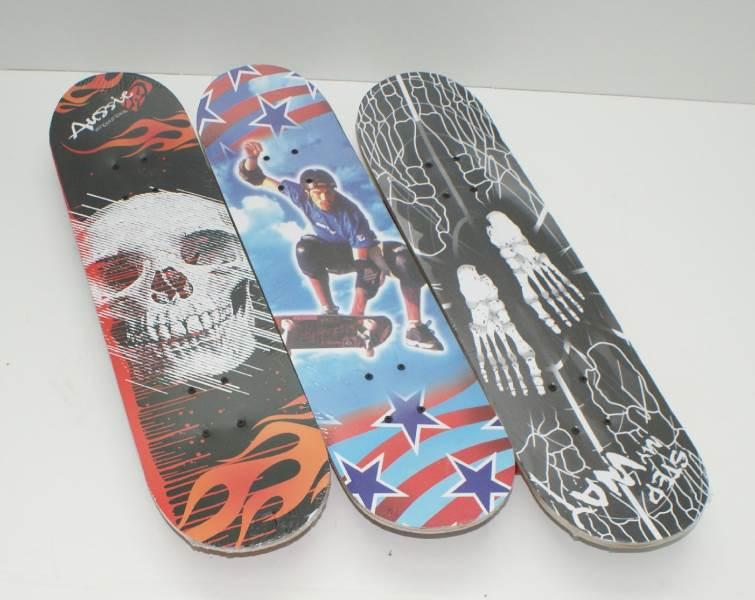 GGV Detský skateboard s potlačou 78 x 20 cm