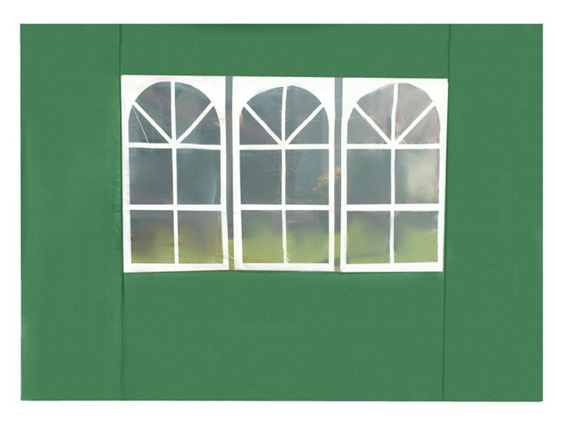 Malatec 2267 Bočnice stanu 3 x 3 m s oknami zelená