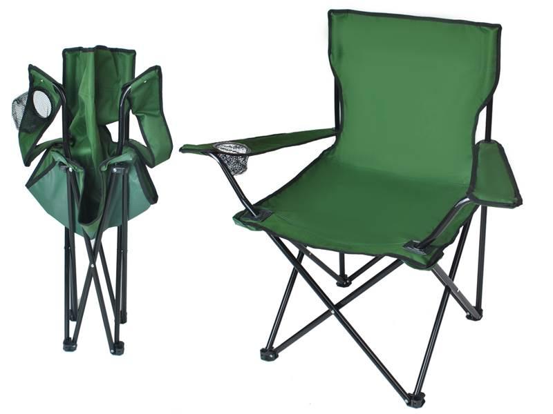 Malatec Kreslo skladacie Relax zelené