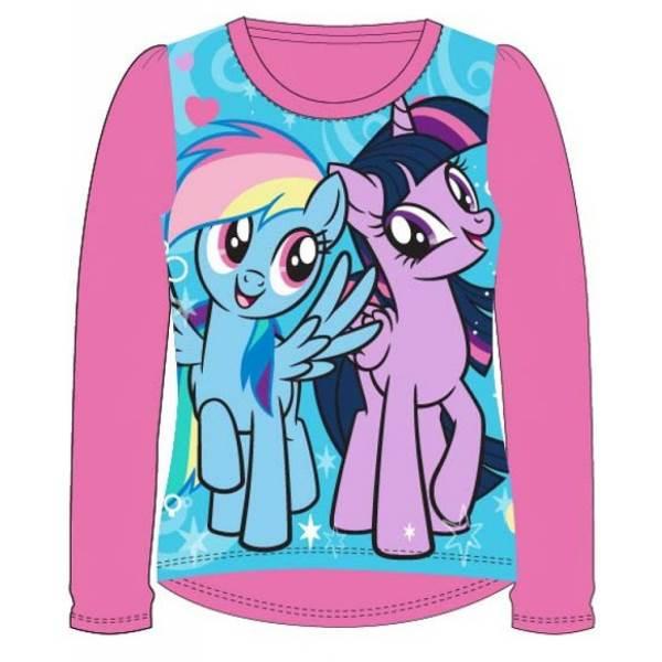 Javoli Detské tričko dlhý rukáv My Little Pony veľ. 110 ružové