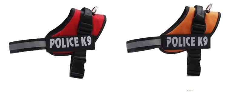 KIK KX7748 Postroj pro psa Police K9 XL2