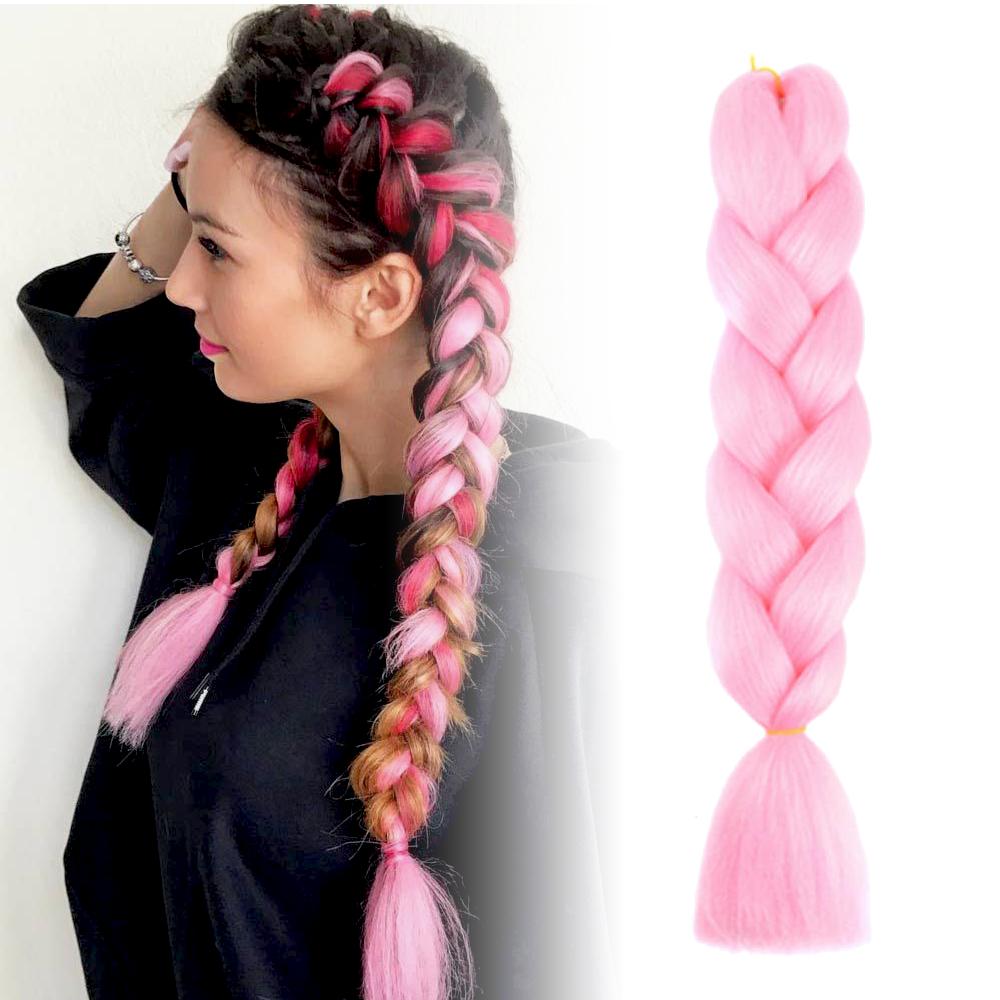 GFT Vlasový príčesok - ružový