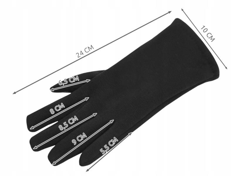 ISO 6413 Zimní rukavice na dotykové displeje 2v1 černé2