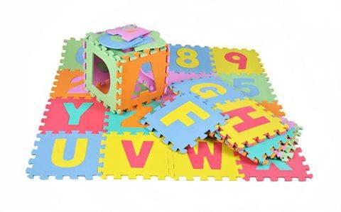 EVA Penové puzzle 30 x 30cm - 36 ks3