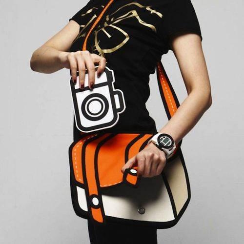 Master 3D kreslená kabelka oranžová
