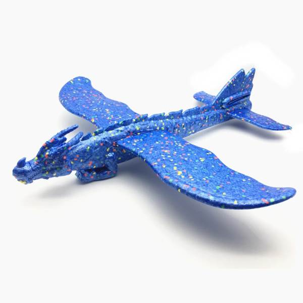 KIK Penové hádzací lietadlo Drak