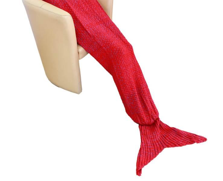 APT Deka mořská panna XL 180 x 100 cm červená