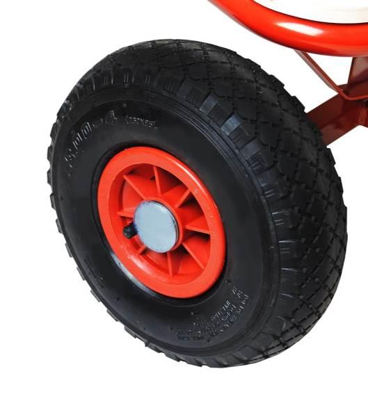 Záhradný vozík s plachtou 150 Kg - WO-8604