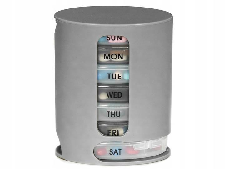 Verk 15570 Týdenní dávkovač na léky Pill Pro