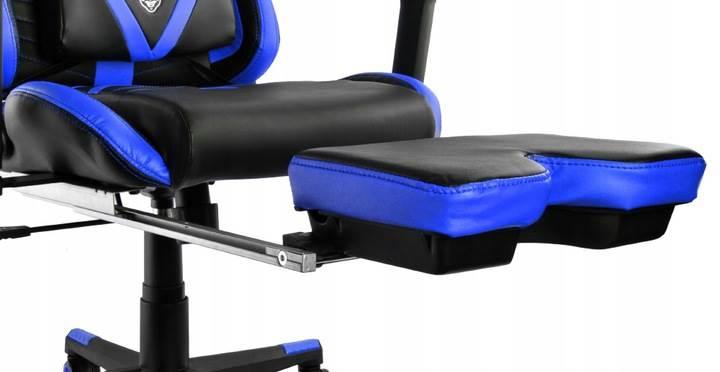 Malatec 6426 Herní židle černo modrá12