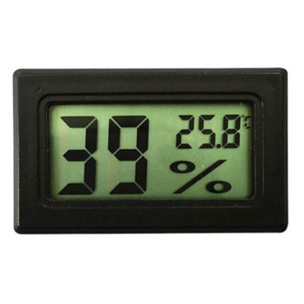 ISO 9310 Digitálny LCD Teplomer a Vlhkomer Vnútorné do Panelu