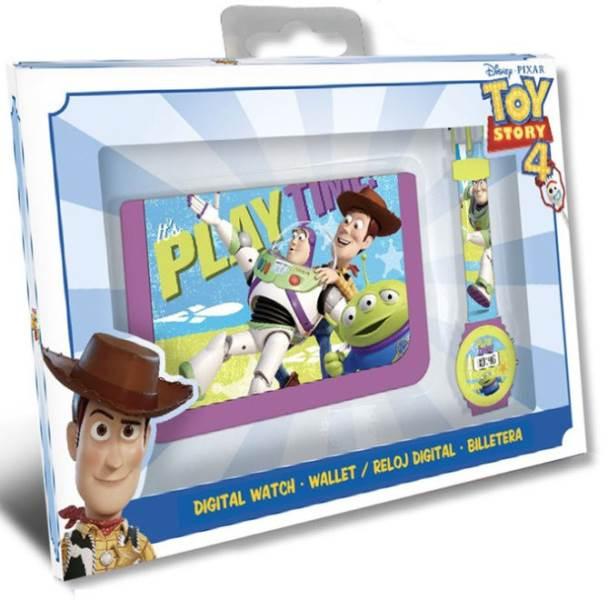 Javoli Darčeková sada Disney Toy Story peňaženka s hodinkami